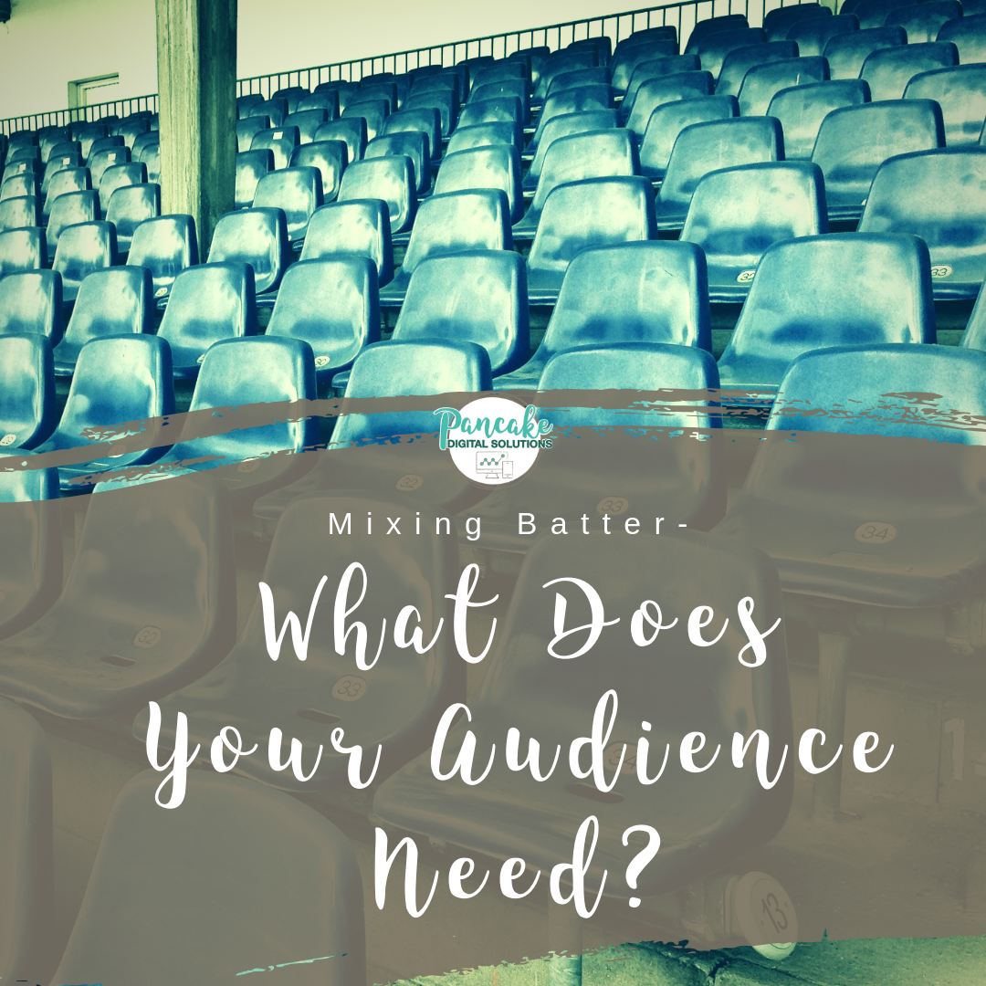 what does your business audience need?